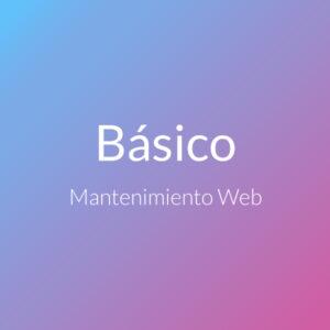 Mantenimiento Web Básico